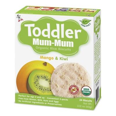 Toddler Mum Mum Rice Biscuits Mango & Kiwi - 2.12oz
