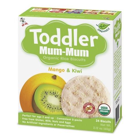 Toddler Mum Mum Rice Biscuits Mango & Kiwi - 2.12oz - image 1 of 1