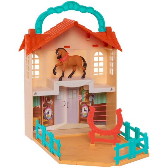Spirit Riding Free Stow 'n Go Barn Playset image number null
