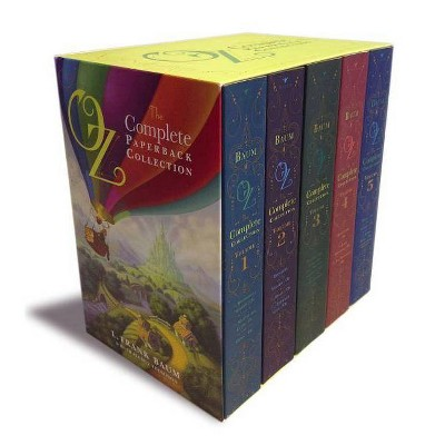 Oz, the Complete Paperback Collection - (Oz, the Complete Collection) by  L Frank Baum