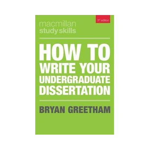 How To Write A Thesis Essay  Essay On High School Dropouts also Top English Essays How To Write Your Undergraduate Dissertation   By Bryan Greetham  Paperback Synthesis Essay