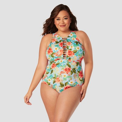 d57b039beb BEACH BETTY BY MIRACLE BRANDS. WOMEN S PLUS SIZE SLIMMING CONTROL ...