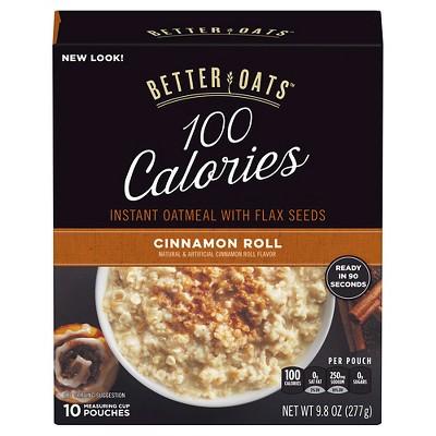 Better Oats Fit Cinnamon Roll Oatmeal - 10ct