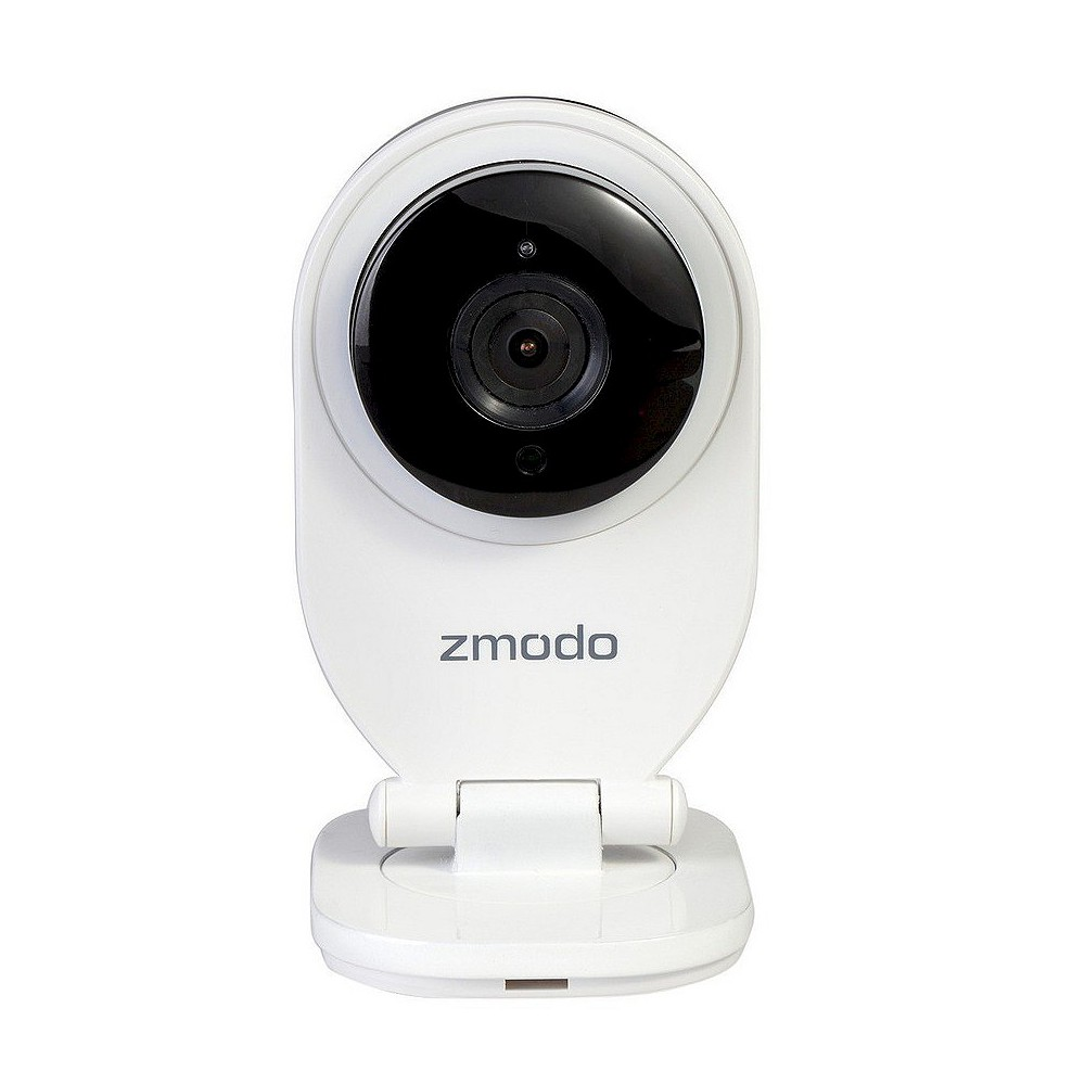Zmodo 720P HD Mini Wifi Network IP Home Security Camera - White (4090314) The Zmodo 720P HD Mini Wifi Network IP Home Security Camera is everything you need keep your places, people and pets secure, wherever you are. This sleek and modern web-enabled security camera is packed with intelligent features you'll love.