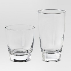 12pc Glass Sherbrook Assorted Tumblers - Threshold™