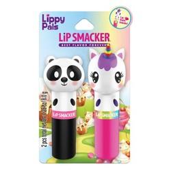 Lip Smacker Lippy Pals Panda and Unicorn Lip Balm -.28oz