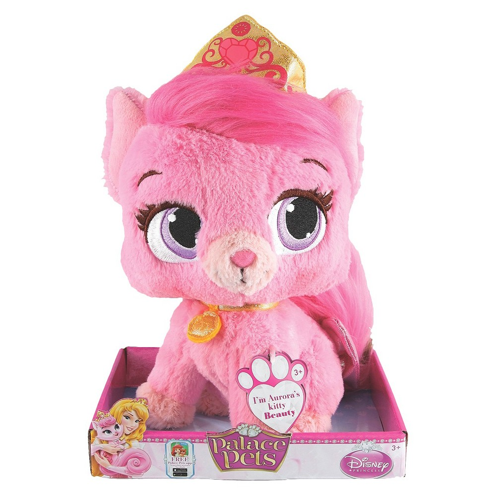 Disney Princess Palace Pets Aurora's Kitty Beauty Large Plush Toy