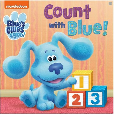 Count with Blue! (Blue's Clues & You) (Board Book)