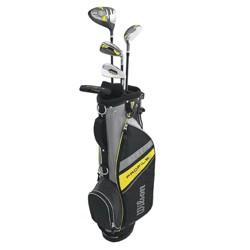 Wilson Profile Complete Junior Medium Right Hand Golf Club Set w/ Bag, Yellow
