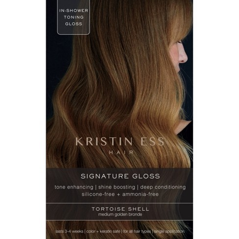 Kristin Ess Hair Signature Gloss Temporary Hair Color - Tortoise Shell - image 1 of 5