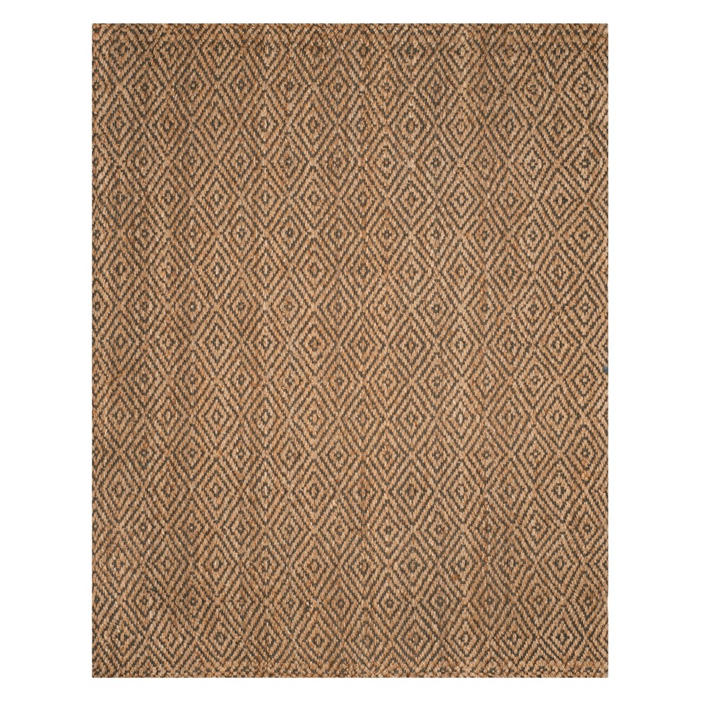 10'X14' Geometric Woven Area Rug Natural/Gray - Safavieh