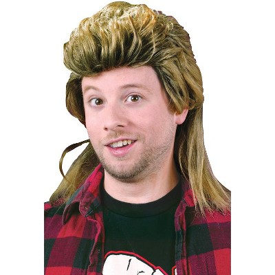 Fun World 1980's Mullet Costume Wig