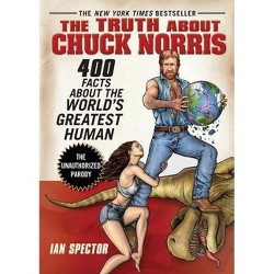 Truth About Chuck Norris : 400 Facts About the World Greatest Human -  by Ian Spector (Paperback)