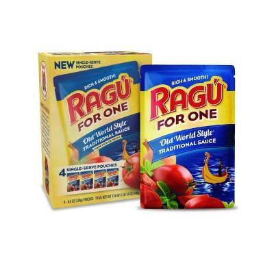 Ragu For One Traditional Pasta Sauce - 4pk/4oz