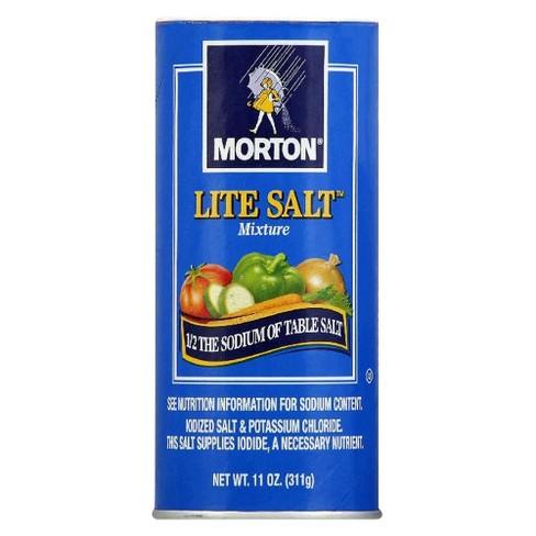 Morton® Lite Salt - 11oz - image 1 of 1