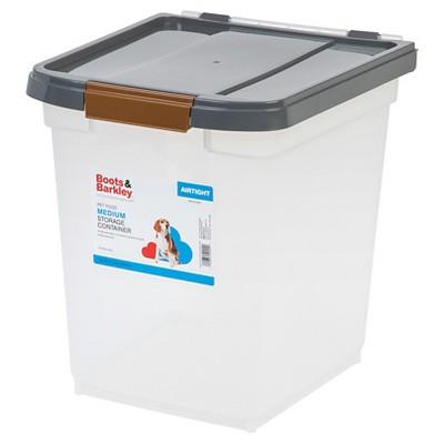 Ordinaire Cat Or Dog Food Medium Storage Container 25 Lb   Boots U0026 Barkley™