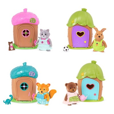 Li'l Woodzeez Mini Acorn House Surprise – 1 Mini House Playset with Toy Figurine