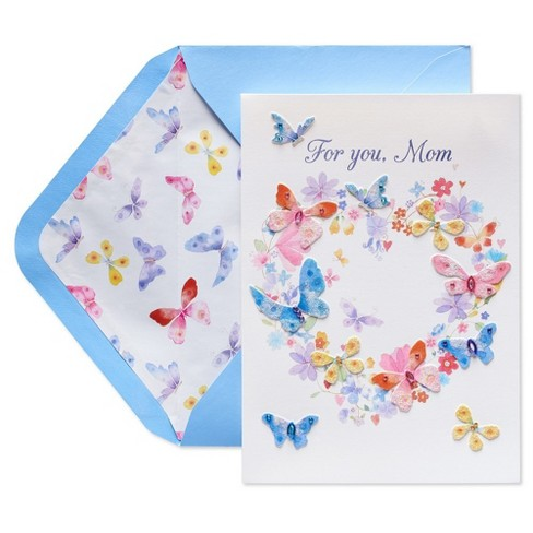 Papyrus butterfly heart wreath mothers day greeting card target papyrus butterfly heart wreath mothers day greeting card m4hsunfo