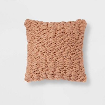 Chunky Weave Square Throw Pillow - Project 62™