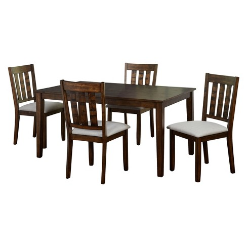 5pc Olin Dining Set - Brown - Buylateral - image 1 of 2