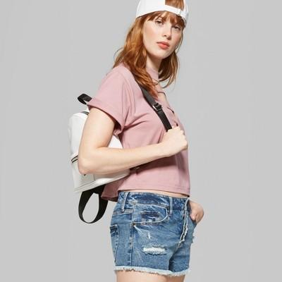 ae41cd729c4e Women's High-Rise Button Fly Denim Shorts – Wild Fable™ Medium Wash ...