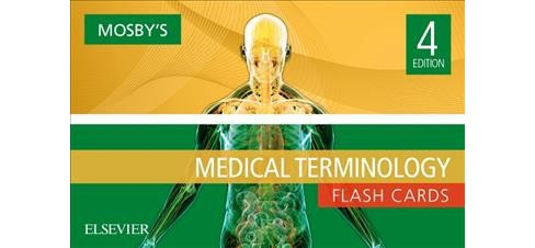 Mosby's Medical Terminology Flash Cards : 650 Full-color Cards (Paperback) - image 1 of 1