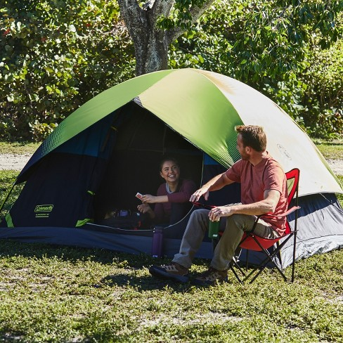 Coleman 4-Person Sundome with Easy Setup Tent