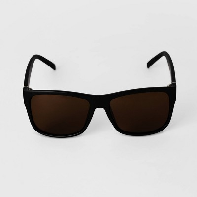 Men's Matte Square Sunglasses - Goodfellow & Co™ Black