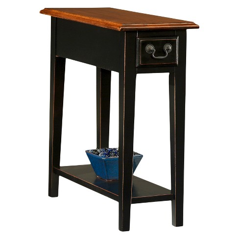 Favorite Finds Side Table Slate Finish - Leick Home - image 1 of 8
