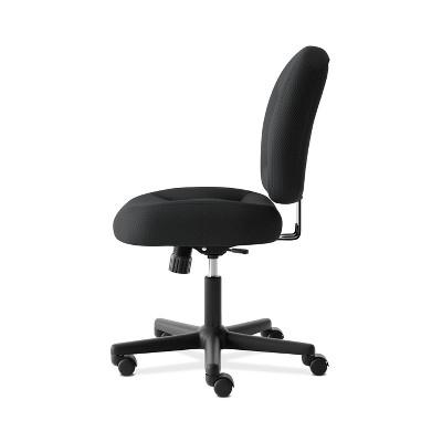 Valutask Low Back Task Chair Mesh Black   HON