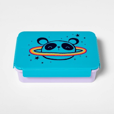 Bento Box with Non-Removable Divider Panda Decal - Cat & Jack™