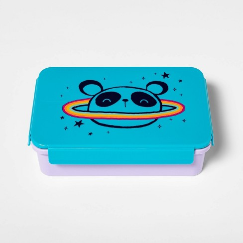 Bento Box with Non-Removable Divider Panda Decal - Cat & Jack™ - image 1 of 3