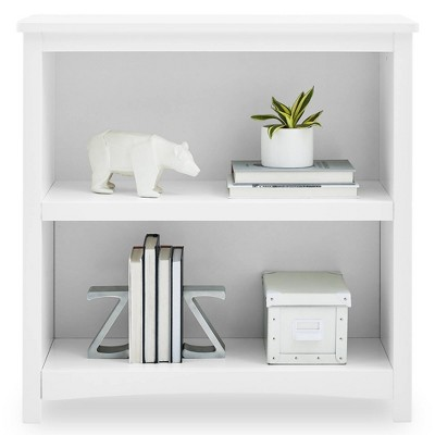 Delta Children Universal 2-Shelf Bookcase - Bianca White