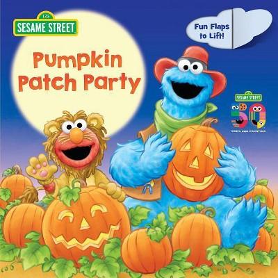 Pumpkin Patch Party (Sesame Street) - by  Stephanie St Pierre (Board Book)