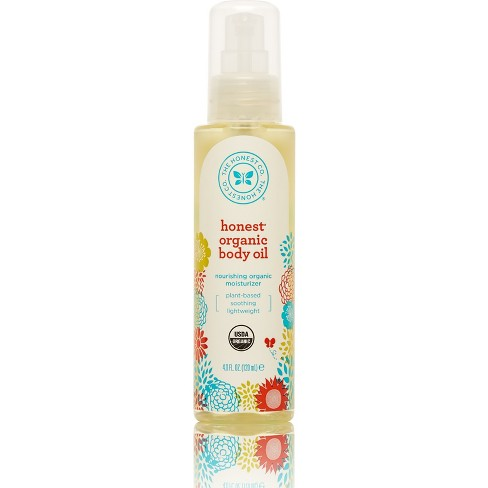Honest Company Organic Body Oil 4 oz - image 1 of 3