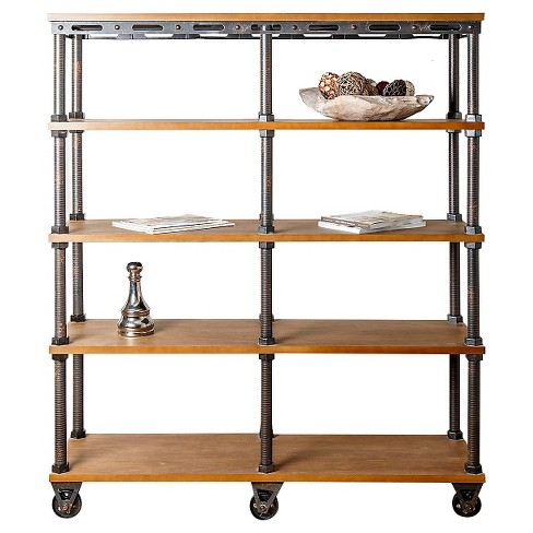 Northwood Industrial Entertainment Bookcase