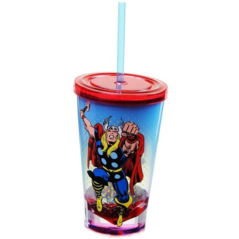 Just Funky Marvel Retro Thor 19oz Carnival Cup - image 1 of 1