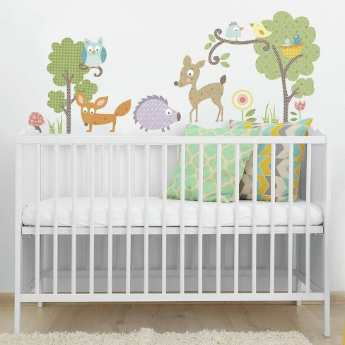 Woodland Animals Peel and Stick Wall Decal - RoomMates - image 1 of 2