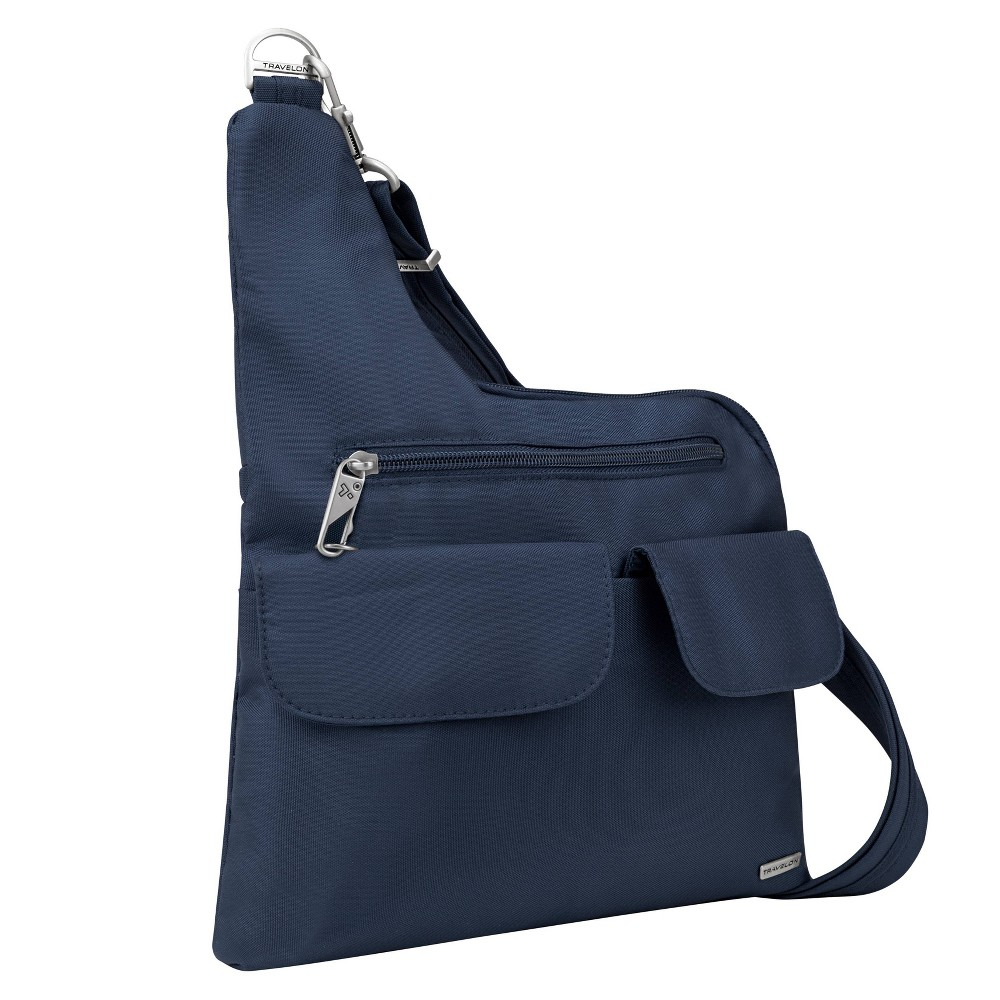 Travelon Adjustable Bucket Hobo Bag Handbag Crossbody Purse Tote Green Jade