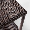 Monroe Wicker Patio Side Table - Threshold™ - image 3 of 4