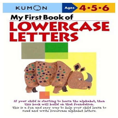 My First Book Of Lowercase Letters (Original) (Paperback) - image 1 of 1