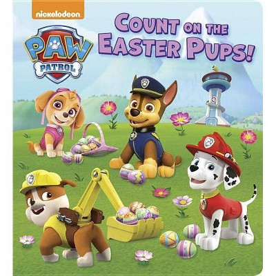 Count on the Easter Pups! (PAW Patrol) - by Random House (Hardcover)