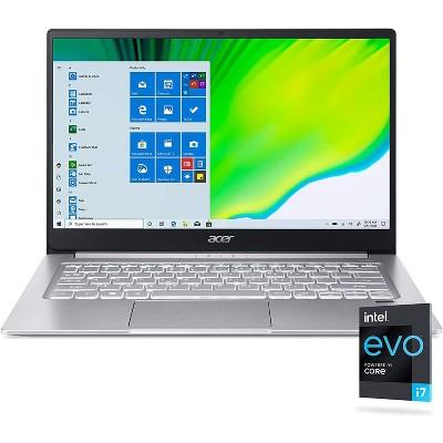 "Acer Swift 3 - 14"" Laptop Intel Core i7-1165G7 2.8GHz 8GB Ram 256GB SSD Win10H - Manufacturer Refurbished"