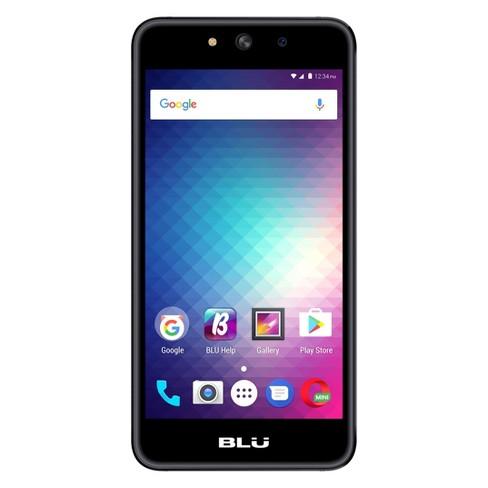 BLU Grand M G070Q (GSM Unlocked) 8GB Smartphone - Black - image 1 of 2