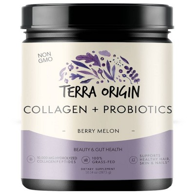 Terra Origin Collagen + Probiotics - Berry Melon - 10.14oz