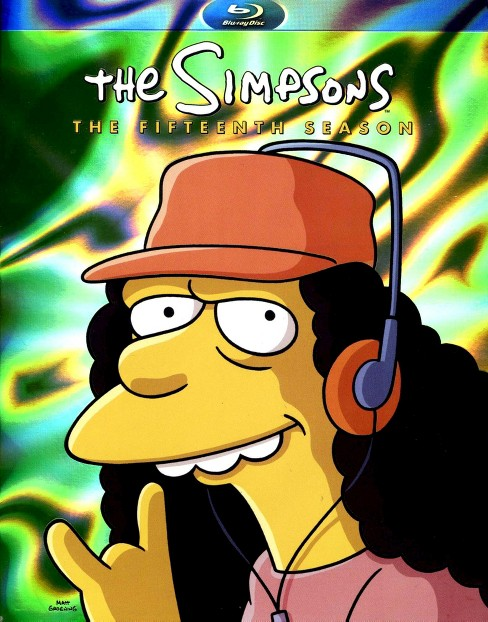 The Simpsons: The Fifteenth Season (4 Discs) (Blu-ray) - image 1 of 1