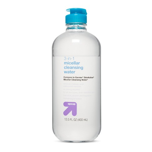 All In One Micellar Cleansing Water - 13.5 fl oz - Up&Up™ (Compared to Garnier SkinActive Micellar Cleansing Water) - image 1 of 1