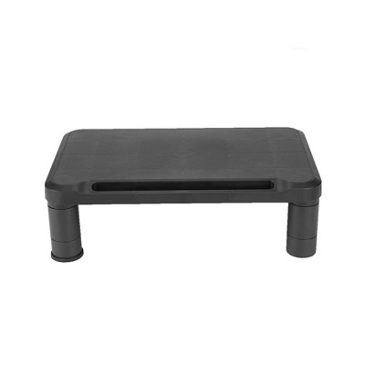 Mind Reader Small Monitor Stand, Black