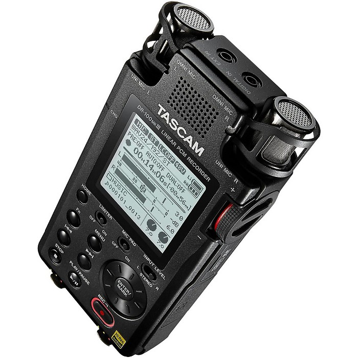 Tascam Portable 2-Channel Linear PCM Recorder - image 1 of 3