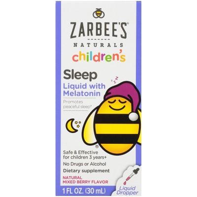 Zarbee's Naturals Children's Sleep Liquid with Melatonin - 1 fl oz